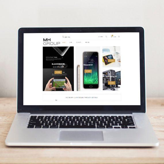 Изработка на WEB магазин за електротехника